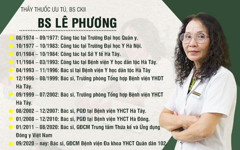 thầy thuốc ưu tú Lê Phương - Giám đốc chuyên môn Bệnh viện YHCT Quân dân 102