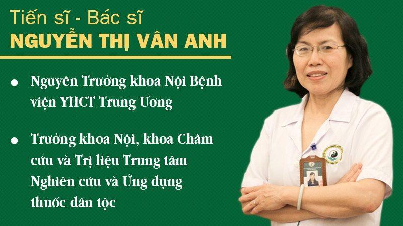 Tiến sĩ Nguyễn Thị Vân Anh - Viện trưởng Viện nghiên cứu và Phát triển YHCT Dân tộc