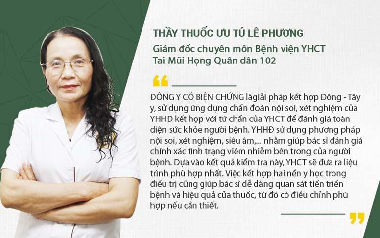 Bác sĩ Phương chia sẻ Đông y có biện chứng