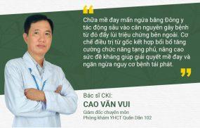 Bác sĩ Cao Văn Vui đánh giá