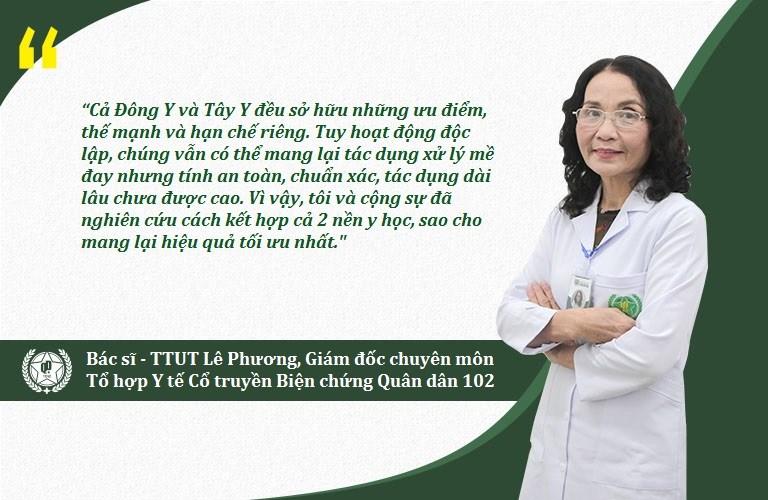 Bác sĩ Lê Phương cùng cộng sự nghiên cứu, phát triển phương pháp xử lý bệnh mề đay mãn tính bằng Đông Y có biện chứng