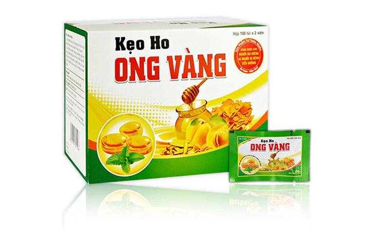 Kẹo ngậm Ong vàng phù hợp cho trẻ trên 3 tuổi, người đang ăn kiêng và người bị tiểu đường