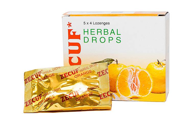 Kẹo ngậm Zecuf là sản phẩm có nguồn gốc từ Ấn Độ với ba hương vị khác nhau