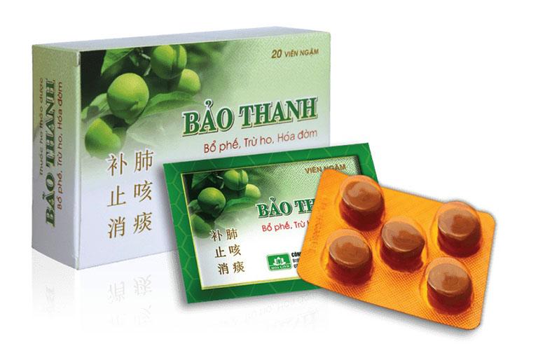 Viên ngậm Bảo Thanh hỗ trợ viêm họng là sản phẩm của Công ty Dược phẩm Hoa Linh