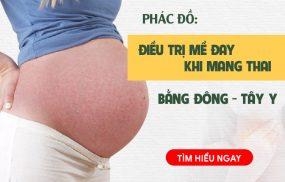 Phác đồ chữa mề đay khi mang thai