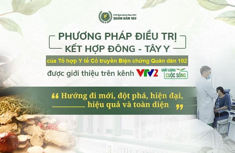 Phương pháp xử lý mề đay ở trẻ em Quân dân 102 được VTV2 đánh giá cao, giới thiệu tới toàn thể người dân trên cả nước