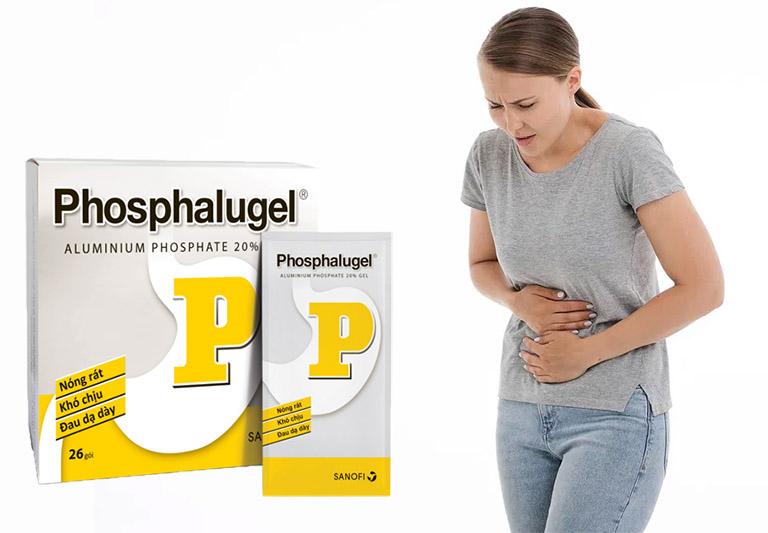 Thuốc chữa dạ dày Phosphalugel dùng có tốt không?