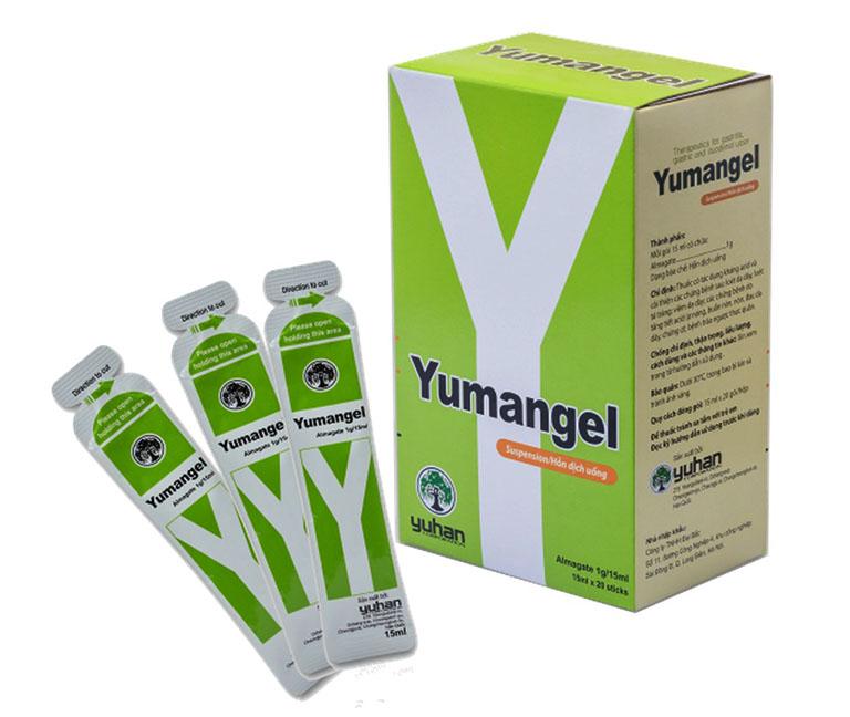 Yumangel là thuốc điều trị, không phải thực phẩm chức năng hỗ trợ điều trị bệnh.