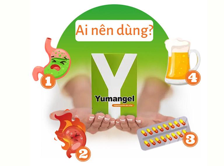 Những ai nên dùng thuốc dạ dày chữ Y (Yumangel)?