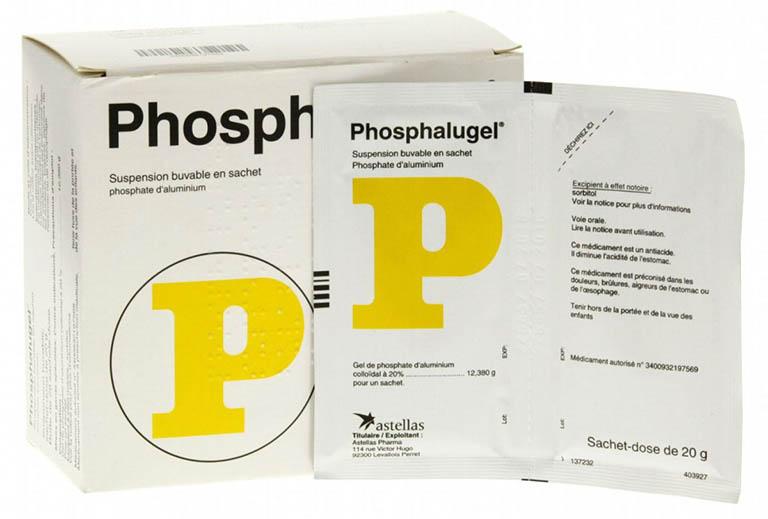 Thuốc đau dạ dày dạng sữa Phosphalugel