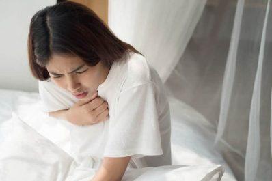 Viêm amidan gây khó thở