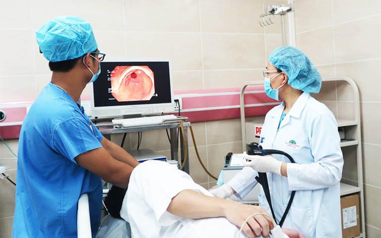 chẩn đoán viêm loét bờ cong nhỏ dạ dày