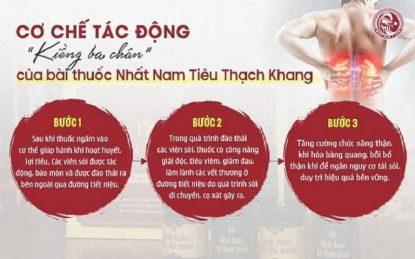 Cớ chế điêu ftrij vững chắc của Nhất Nam Tiêu Thạch Khang với 3 bài thuốc nhỏ