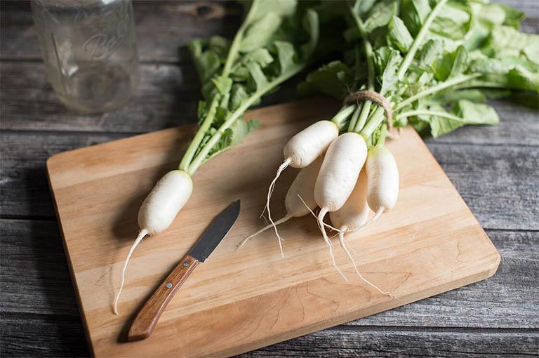 Dùng củ cải trắng trị ho tại nhà có thực sự hiệu quả?