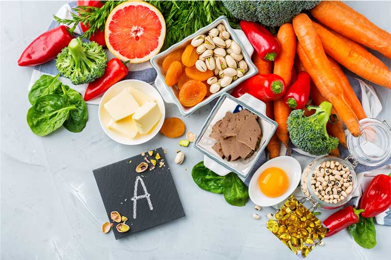 Ho có đờm nên ăn thực phẩm giàu vitamin A