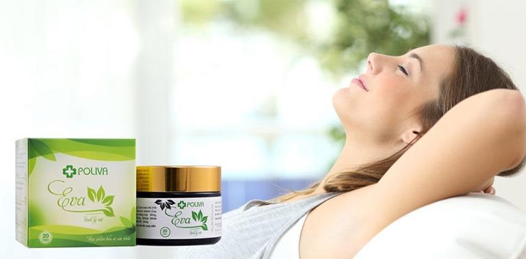 Poliva Eva - Thực phẩm chức năng hỗ trợ điều trị yếu sinh lý nữ