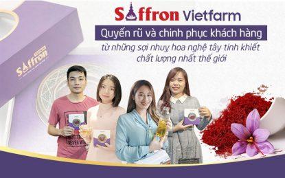Saffron Vietfarm nhận được sự tín nhiệm và yêu thích của hàng ngàn người tiêu dùng Việt