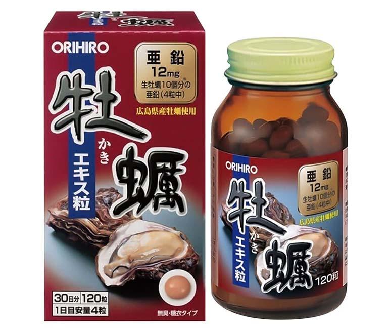 thuốc tăng ham muốn cho nam Tinh chất hàu tươi Orihiro