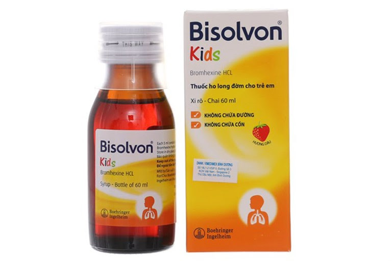 Thuốc điều trị ho có đờm Bisolvon