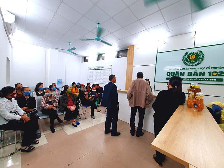 Tổ hợp y tế cổ truyền biện chứng Quân dân 102