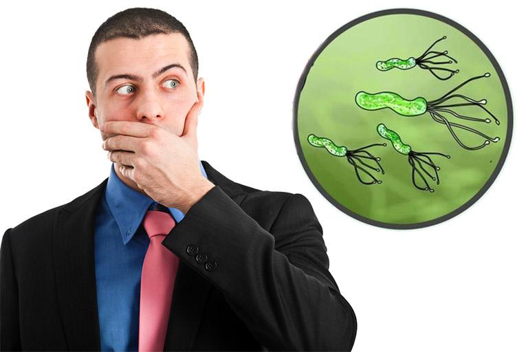 Vi khuẩn HP trú ngụ trong dạ dày có khả năng gây hôi miệng không?