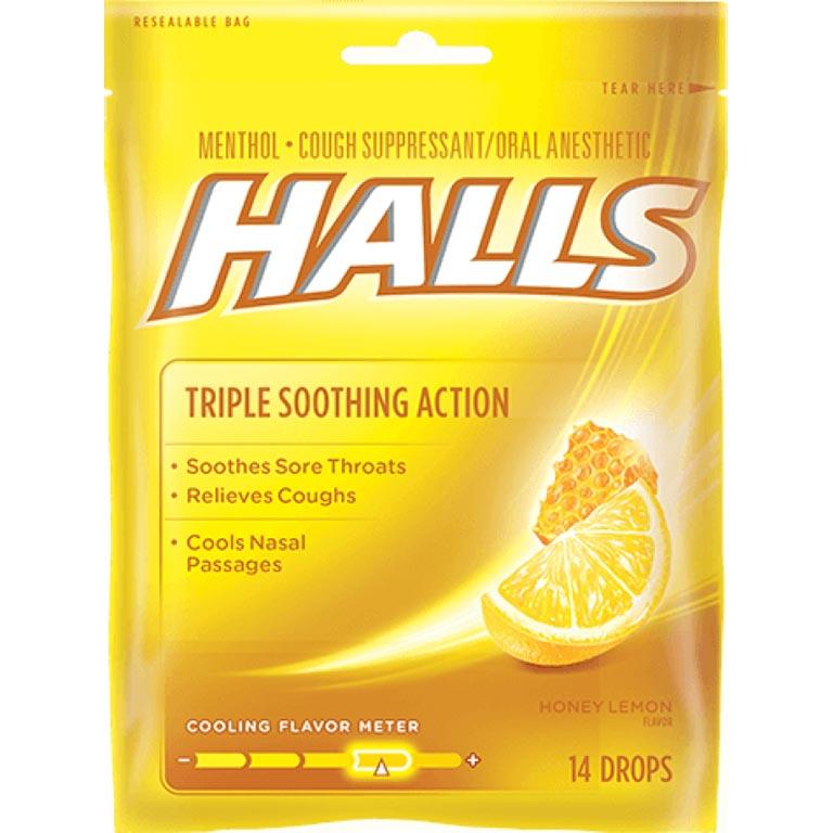 Thuốc ngậm trị ho Halls