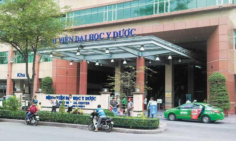 cắt polyp đại tràng ở Bệnh viện Đại Học Y Dược TPHCM cơ sở 1