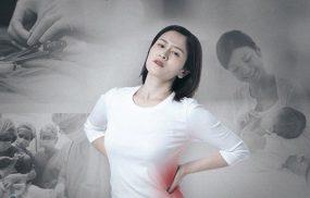 Đau lưng sau sinh mổ