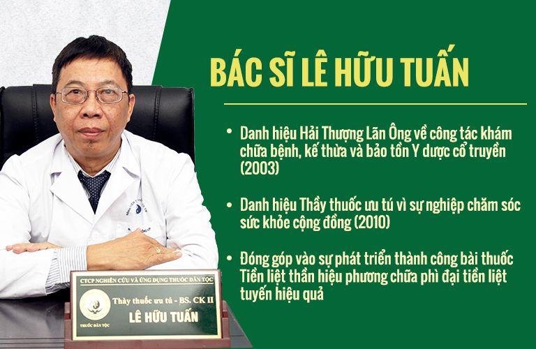 Bác sĩ Lê Hữu Tuấn - nguyên PGĐ Bệnh viện YHCT Trung ương