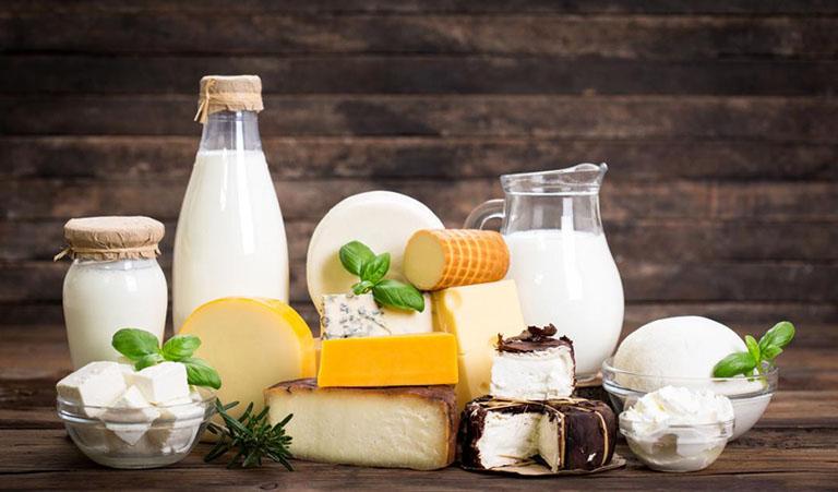 Sữa và chế phẩm từ sữa chứa rất nhiều khoáng chất cần thiết đối với hệ xương khớp