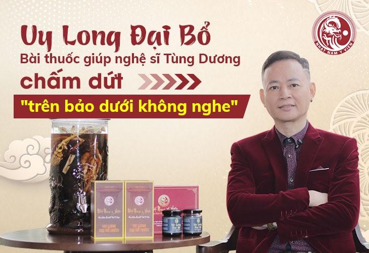 Nghệ sĩ Tùng Dương chia sẻ về bài thuốc giúp anh điều trị dứt điểm yếu sinh lý