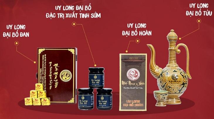 Bộ sản phẩm Uy Long Đại Bổ đã giúp nghệ sĩ Tùng Dương lấy lại bản lĩnh chốn phòng the