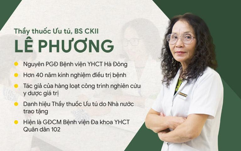 Bác sĩ Lê Phương hiện đang là Giám đốc chuyên môn của Quân dân 102