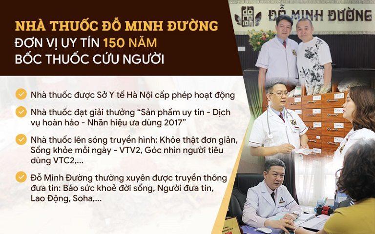 """Nhà thuốc gia truyền Đỗ Minh Đường - Đơn vị uy tín 150 năm """"chữa bệnh cứu người"""" bằng YHCT"""