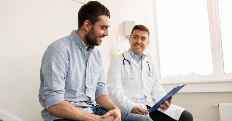 Thăm khám bác sĩ chuyên khoa ngay khi mắc phải tình trạng dương vật không cương cứng được để được hướng dẫn điều trị đúng cách