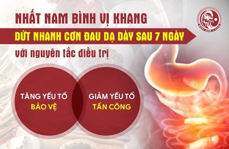 Cơ chế tác động chuyên sâu của bài thuốc Nhất Nam Bình Vị Khang trị viêm loét dạ dày HP