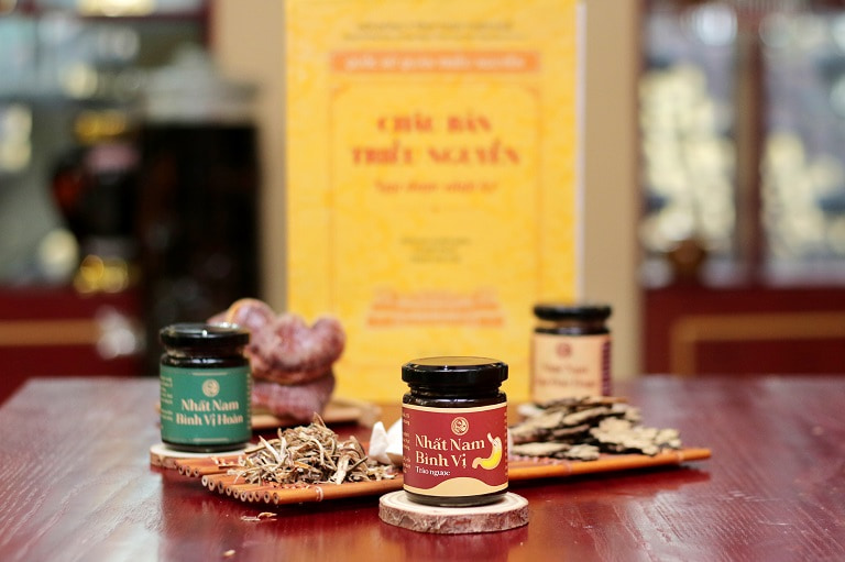 Bộ ba sản phẩm Nhất Nam Bình Vị Khang chữa trào ngược dạ dày